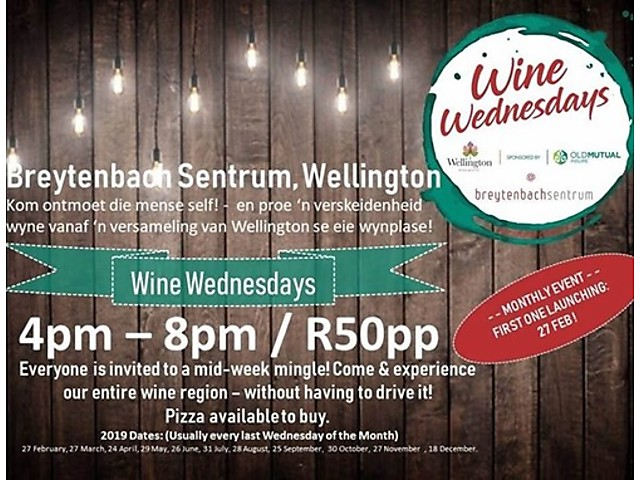 Wine Wednesday.jpeg - Cape Winelands District image