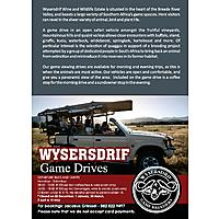 Wysersdrift Game drives image
