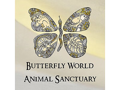 2018 BWAS Logo.jpg - The Animal Sanctuary @ Butterfly World image