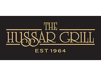 Logo Spot Gold on Black.jpg - The Hussar Grill Paarl image
